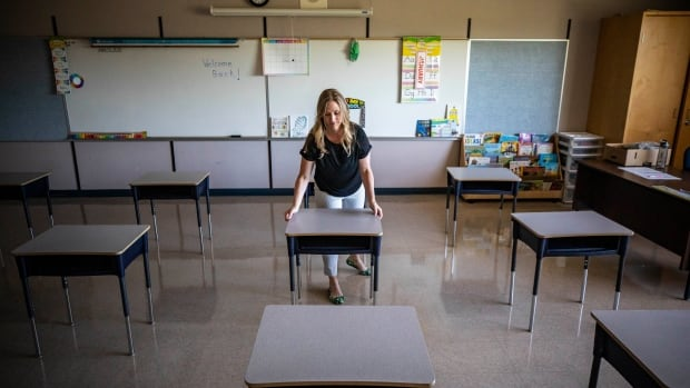 Dr. Bonnie Henry suggests 1-metre distance acceptable in classrooms as teachers push for smaller class sizes