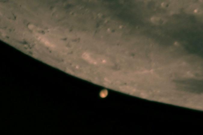 Ocultação de Marte pela Lua terá transmissão ao vivo; acompanhe