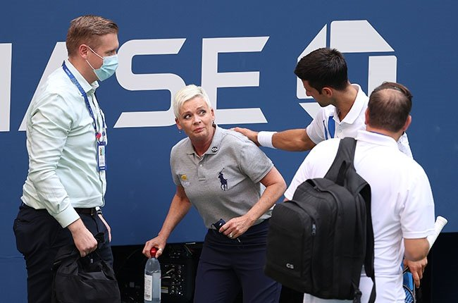 US OPEN SHOCKER: Novak Djokovic disqualified after hitting official with ball