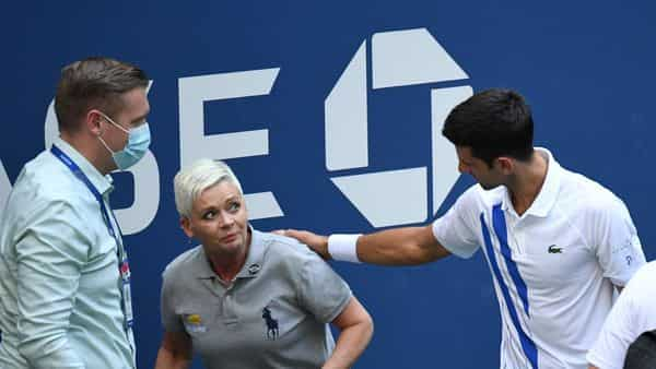 Novak Djokovic out of US Open after hitting line judge with ball