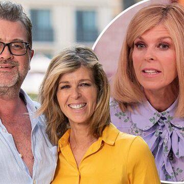 Kate Garraway reveals husband Derek Draper lost EIGHT STONE during his six-month coronavirus battle