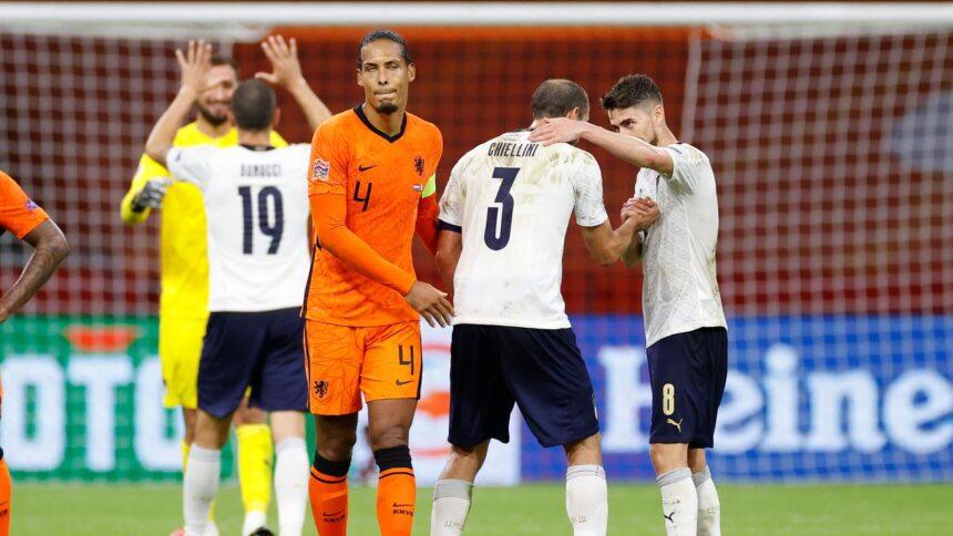 Van Dijk miste 'pit en strijd' bij Oranje in eerste helft tegen Italië