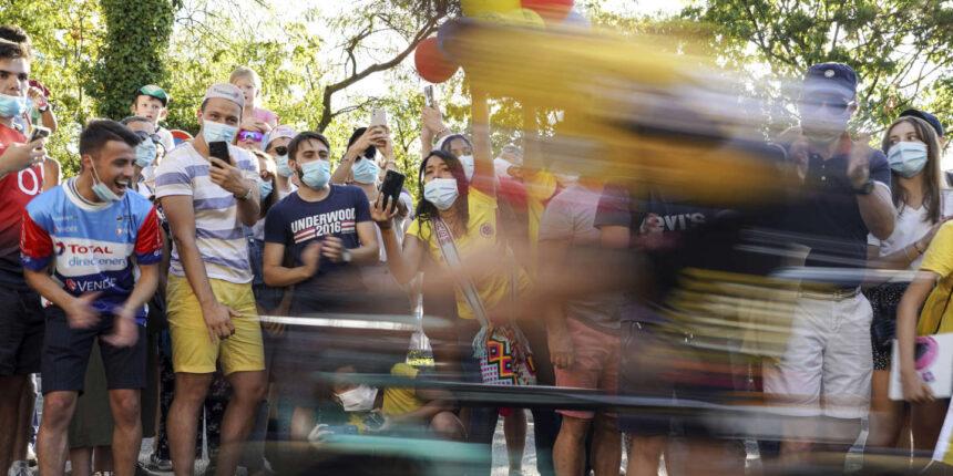 Usure, édile et interminable ascension, le Tour de France à l'assaut du Grand Colombier