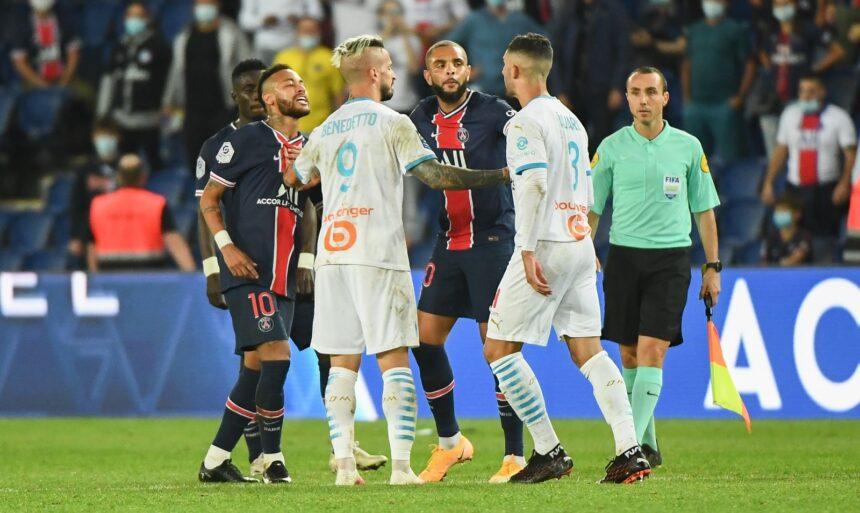 PSG-OM: la colère de Neymar, qui accuse Alvaro de racisme