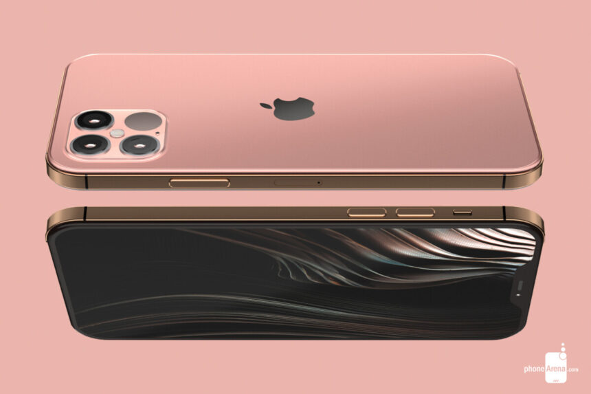 The iPhone 12 Pro chassis leaks in a hands-on video and cases, spot the surprise extra camera