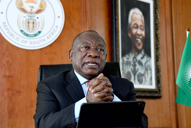 Ramaphosa holds meetings ahead of expected move to level 1 lockdown for South Africa