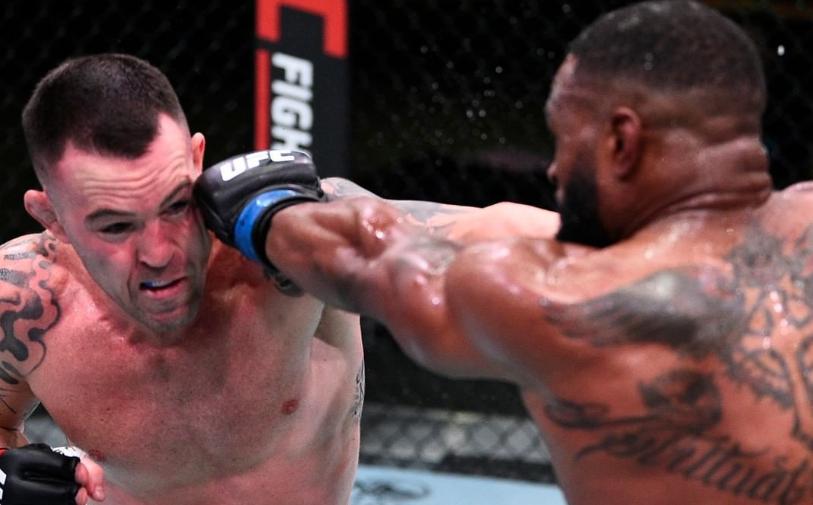 Ковингтон одолел Вудли, Чимаев нокаутировал Мершарта на UFC Fight Night 178