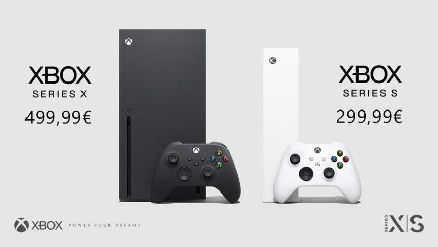 Les précommandes des Xbox Series X et S sont ouvertes