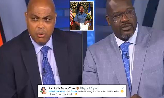Breonna Talyor: Charles Barley and Shaquille O'Neal attacked for 'defending cops'