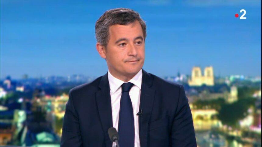 """Attaque à Paris: """"manifestement c'est un acte de terrorisme islamiste"""" pour Gérald Darmanin"""