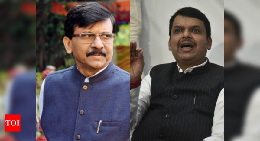 Devendra Fadnavis, Sanjay Raut meet at luxury hotel; not political, says BJP