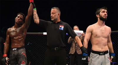 Зубайра Тухугов потерпел поражение на турнире UFC 253 в Абу-Даби