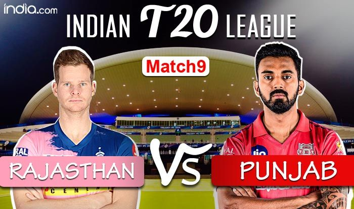 LIVE Rajasthan Royals vs Kings XI Punjab, IPL 2020 Match 9 Live Cricket Score And Updates: Rahul, Mayank Fall
