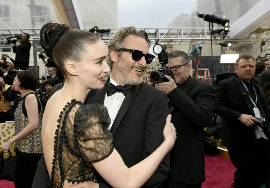Rooney Mara and Joaquin Phoenix welcome baby named River, in memory of his brother, director says