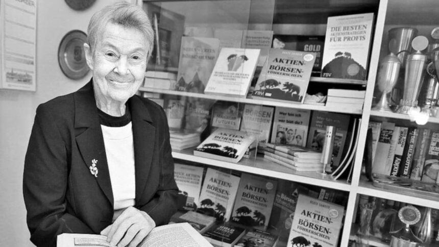 """Nachruf auf Börsen-Oma Beate Sander (✝︎82): """"Luxus bedeutet mir nichts"""""""
