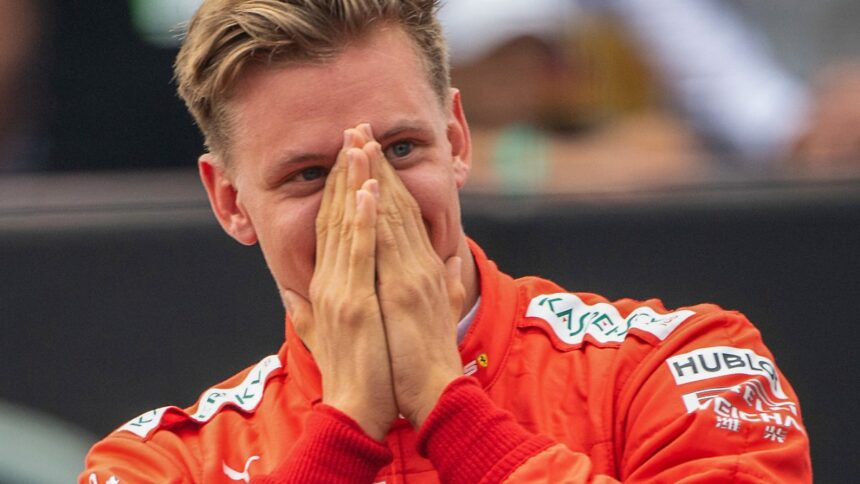 """""""Bin überglücklich"""":Mick Schumacher feiert sein Formel-1-Debüt"""