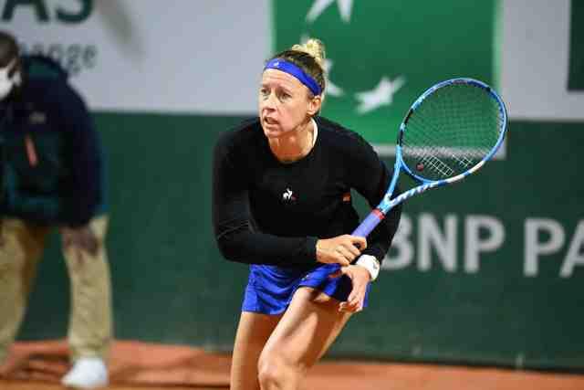 Roland-Garros : Pauline Parmentier, une défaite au premier tour et la retraite
