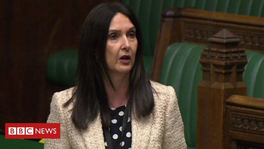 Covid-positive MP Margaret Ferrier suspended over Parliament visit