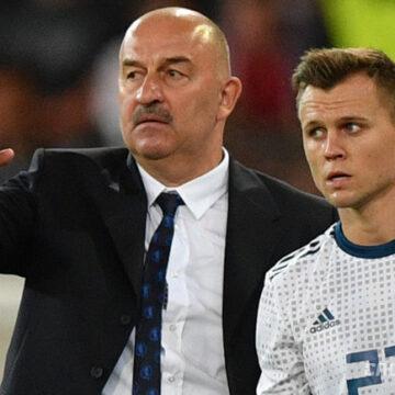 Россия — Швеция: контрольный матч, пресс-конференция Станислава Черчесова и Дениса Черышева
