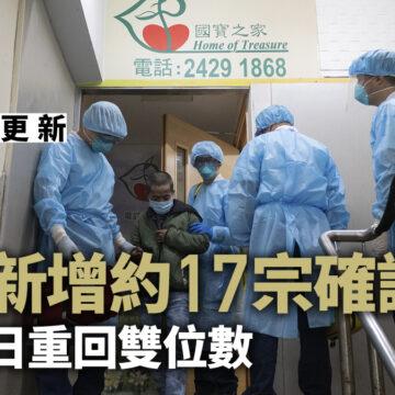 新冠肺炎.最新|政府研收緊防疫措施消息:今日增大概17宗確診