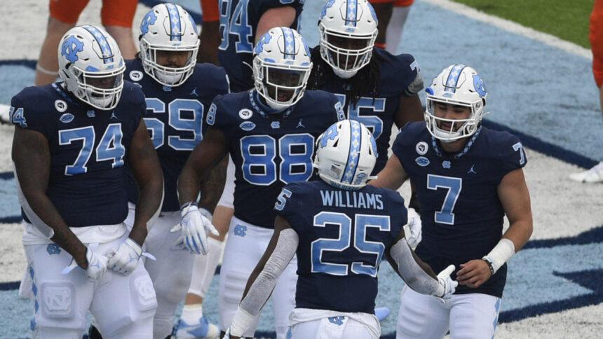 College football scores, NCAA top 25 rankings, schedule, games today: Auburn vs. Arkansas, UNC wins shootout