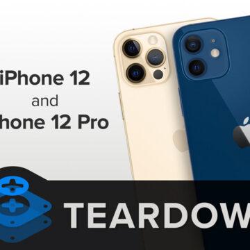 Что скрывают iPhone 12 и 12 Pro: новейшие смартфоны препарированы умельцами iFixit