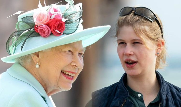 Queen's favourite grandchild Lady Louise will bring some light on Remembrance Sunday