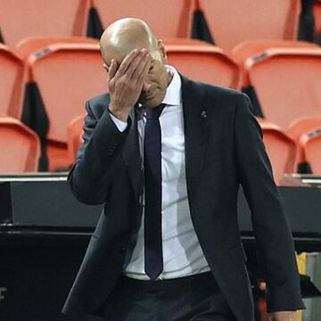 Zinedine Zidane admits 'there's no excuse for how we defended today' after Real Madrid defeat