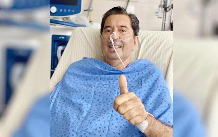 Maguito Vilela volta a ser entubado em hospital de São Paulo