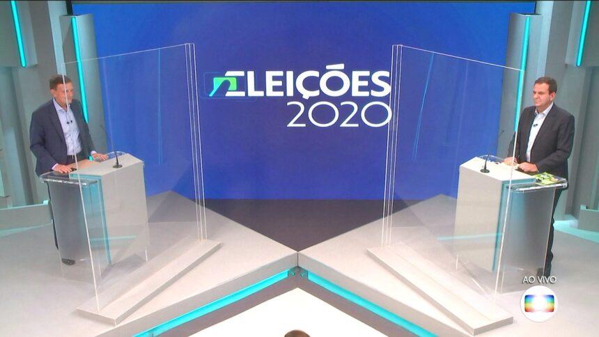 Veja o que é #FATO ou #FAKE nas falas dos candidatos à Prefeitura do Rio no debate da Globo