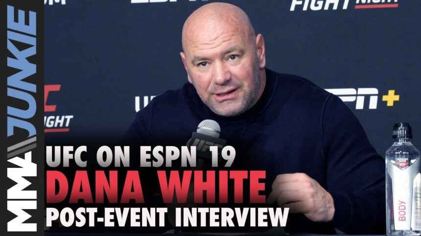 Dana White explains Yoel Romero release, says 60 cuts coming