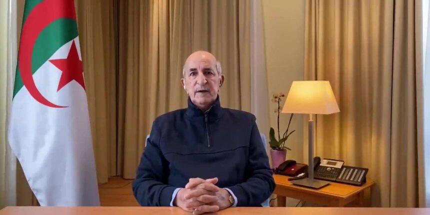 Le président algérien Abdelmadjid Tebboune, convalescent du Covid-19, fait une apparition après deux mois d'absence