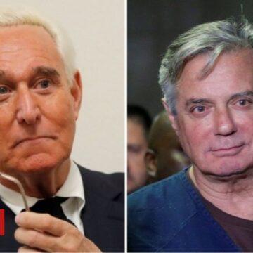 Trump pardons: Paul Manafort, Roger Stone and Charles Kushner granted clemency