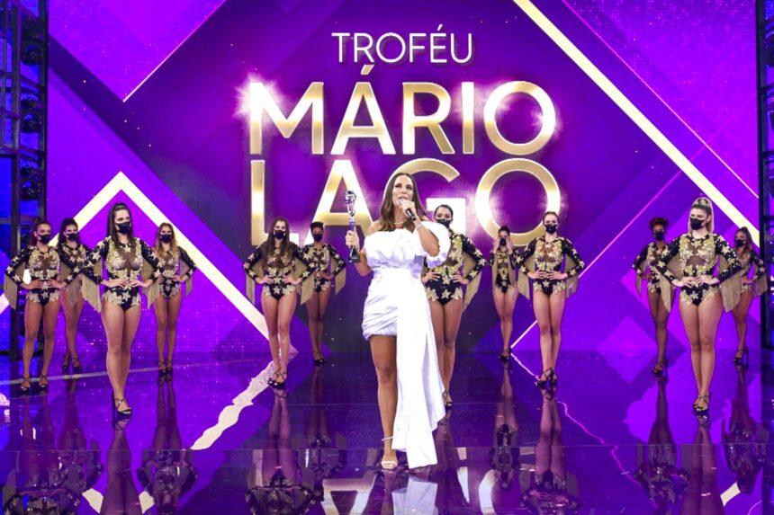 Ivete Sangalo é a homenageada do 'Troféu Mário Lago' no 'Domingão'
