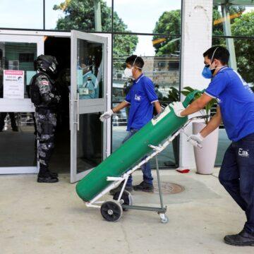 Com hospitais lotados, Amazonas pode recorrer a oxigênio da Venezuela, diz empresa fornecedora
