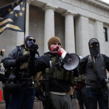 Biden inauguration: Fortified US statehouses see some small protests