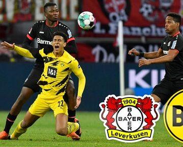 Bayer 04 Leverkusen gegen Borussia Dortmund: 2:1