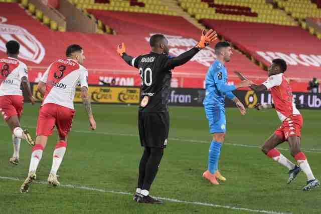 Monaco s'impose face à l'OM et revient à un point du podium