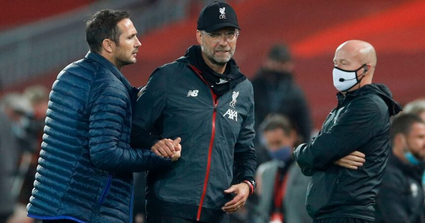 Frank Lampard's sacking should be a cause for concern for Liverpool and Jürgen Klopp