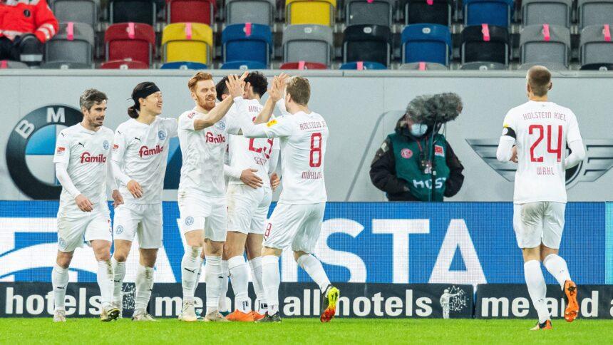 Kiel kickt Düsseldorf erst einmal aus dem Aufstiegsrennen
