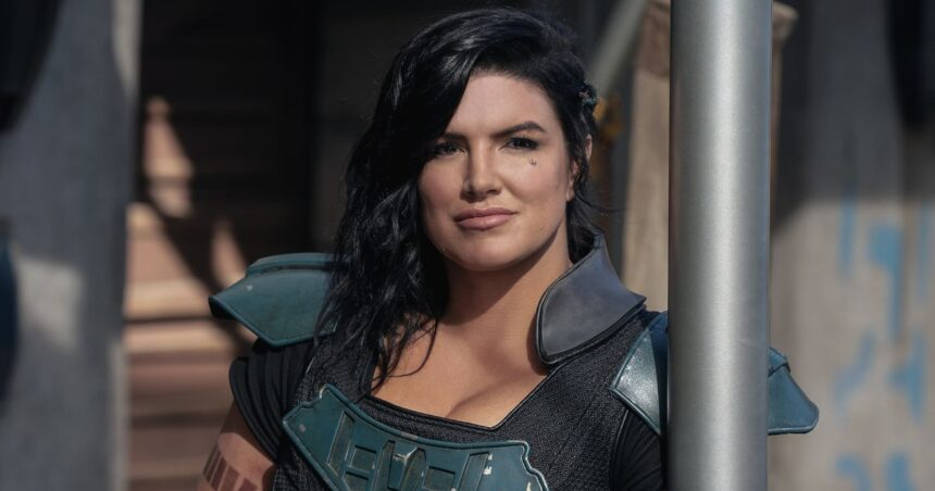 Gina Carano fired from The Mandalorian after 'abhorrent' TikTok post about Nazis