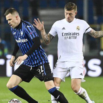Kroos gelingt Real-Rekord:Bergamos Aufopferungskampf nicht belohnt