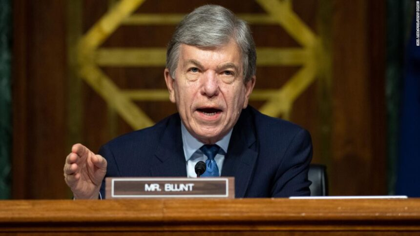 GOP Sen. Roy Blunt announces he will not run for reelection