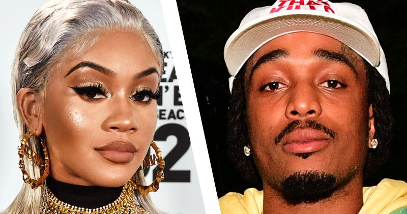 Quavo Pushes Saweetie in Leaked Elevator Footage From 2020