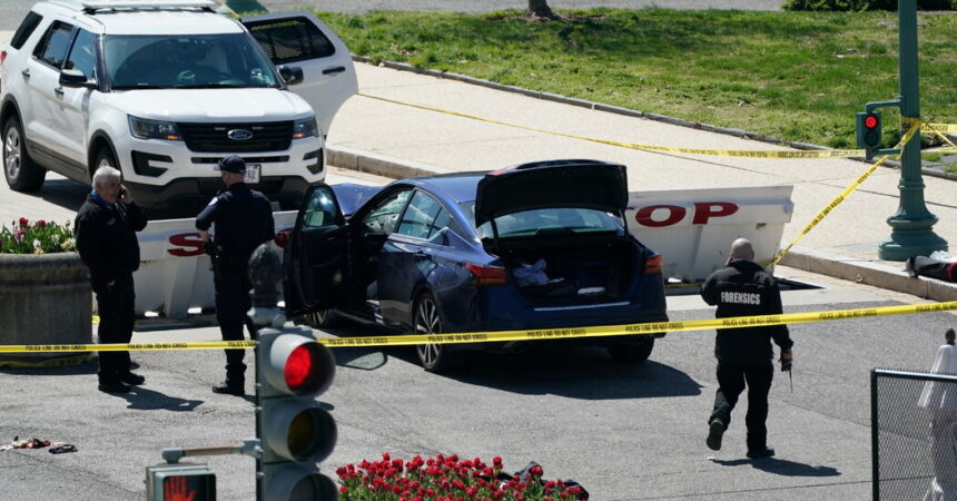 U.S. Capitol on Lockdown After Vehicle Attack; 2 Officers Injured