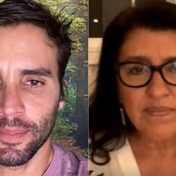 """Em live com Regina Casé, marido de Ivete Sangalo culpa cozinheira por Covid-19: """"Trouxe a doença para nós""""; VÍDEO"""