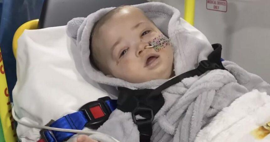 Baby Azaylia Cain rushed to hospital as 'Clap for Azaylia' heard around the world