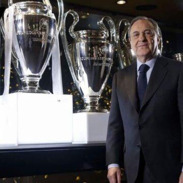 Флорентино Перес: «Ювентус» и «Милан» не вышли из Суперлиги. «Барселона» думает»