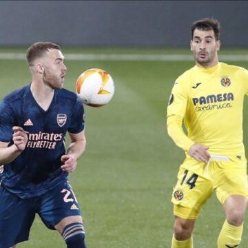 'Lucky' Arsenal houdt uitdoelpunt over aan boeiend schouwspel in Spanje
