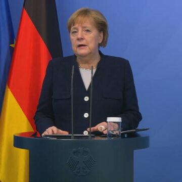 Merkel dankt Nederland voor verzoening met Duitsland na WO II